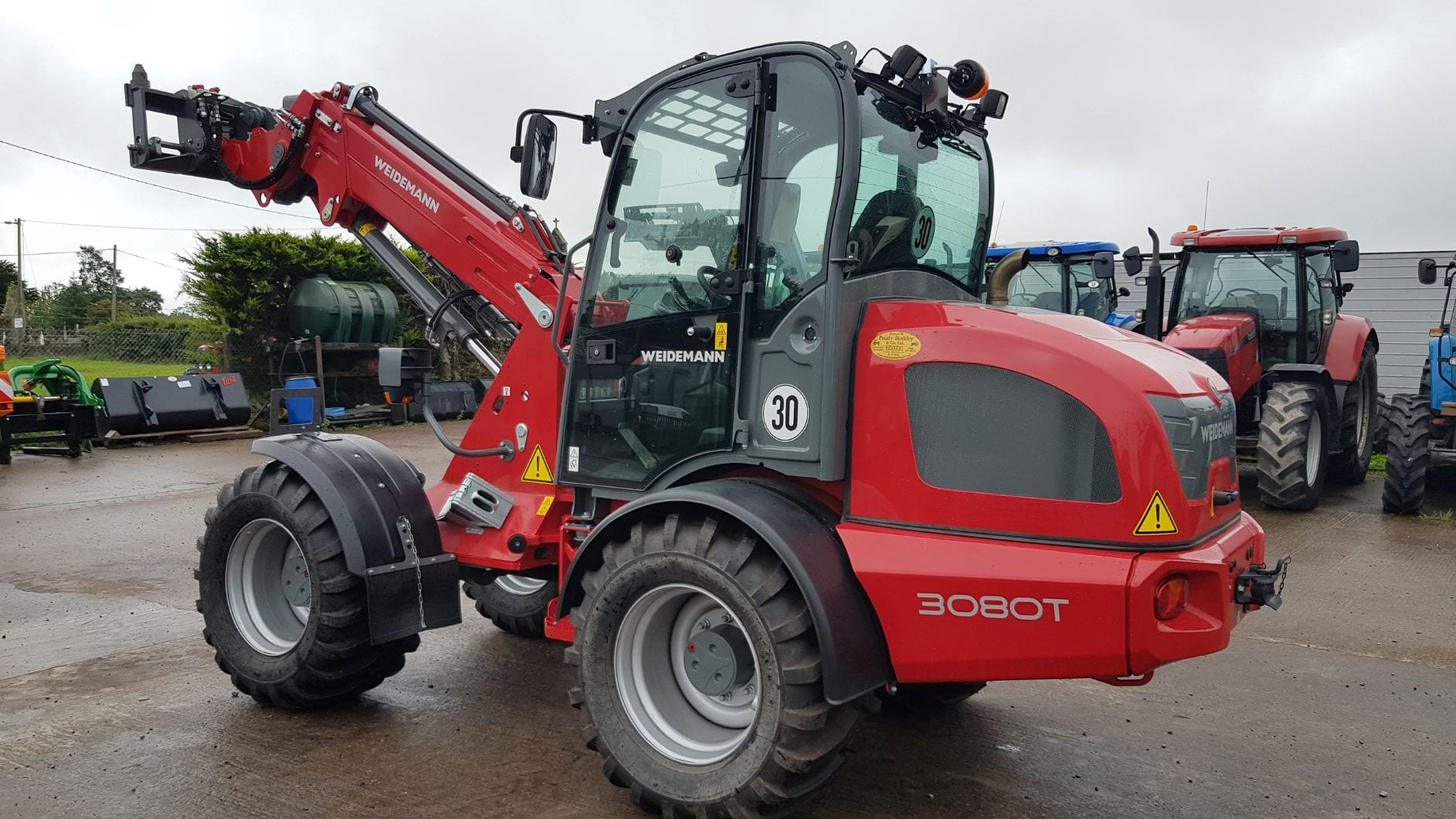 New Weidemann 3080T